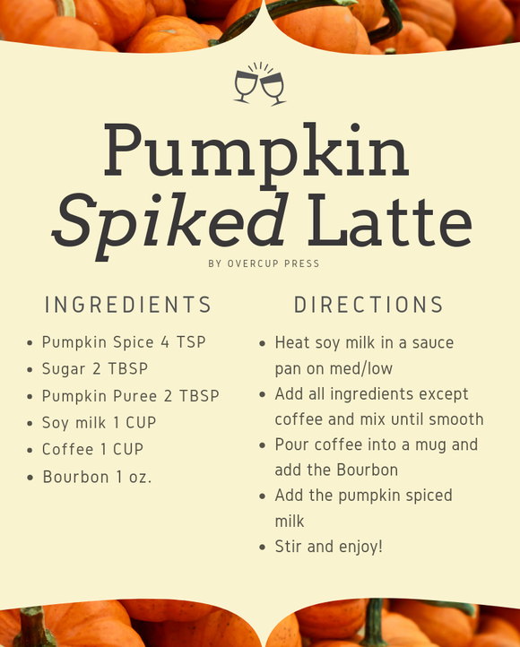 Pumpkin Spiked Latte Recipe