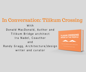 September 12th - Join Tilikum Crossing authors Donald MacDonald and Ira Nadel at Powell's