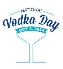 October 4th is National Vodka Day!