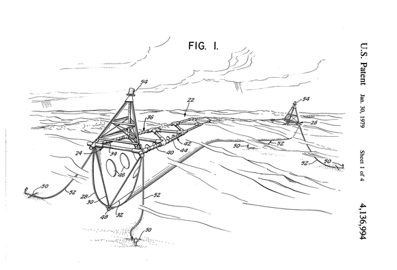 floating breakwater patent
