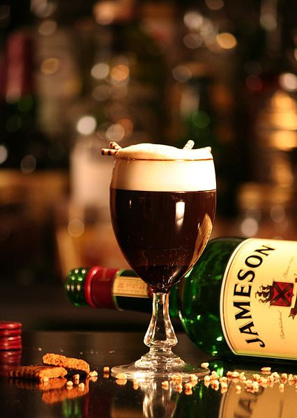 An alcoholic Irish coffee