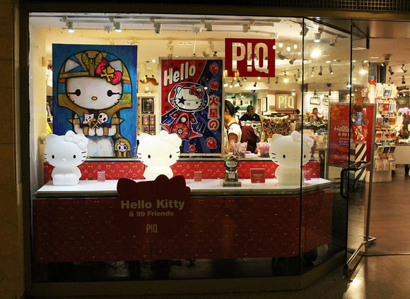 Naoshi featured at Hello Kitty & 99 Friends in NYC