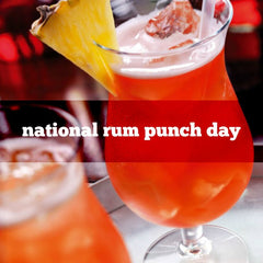 Celebrate National Rum Punch Day