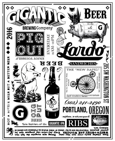 gigantic brewing tap takeover at lardo