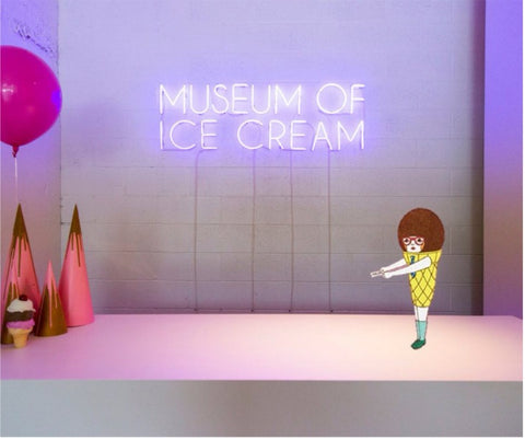 The Museum of Ice Cream Pop-up in NYC meets Ice Cream Man of Naoshi's Ice Cream Work
