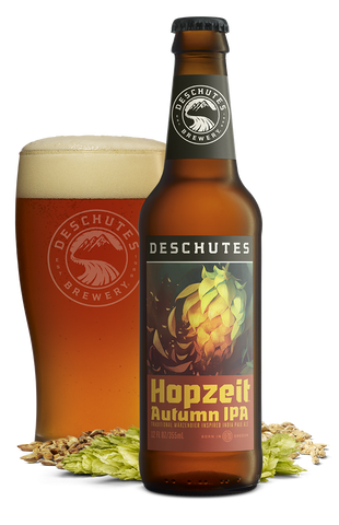 Hopzeit Autumn IPA Fall Beer from Deschutes Brewery