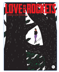 Cover Art Love and Rockets Vol. 4 by The Hernandez Brothers