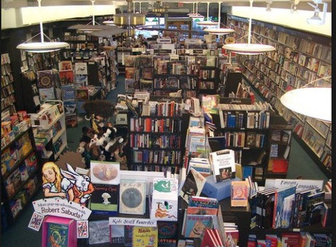 Annie Bloom's bookstore in Portland, OR
