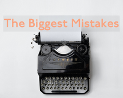 The Biggest Mistakes When Writing a Query Letter