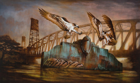 "Brin Levinson's ""Remnants Angels"" - coming up at Antler Gallery"