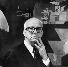Buckminster Fuller, the Poet of Geometry. Courtesy of Maia Valenzuela (CC BY 2.0).