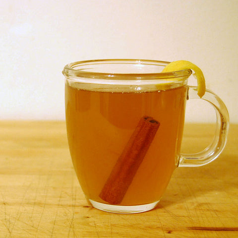 A hot whiskey toddy