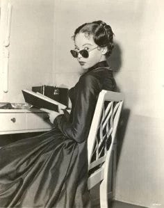 Leslie Caron Caught Reading