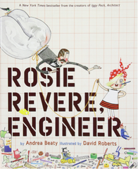 Rosie Revere, Engineer by Andrea Beaty book cover