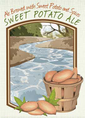 Sweet Potato Ale Fall Beer from Piney River Brewing Co