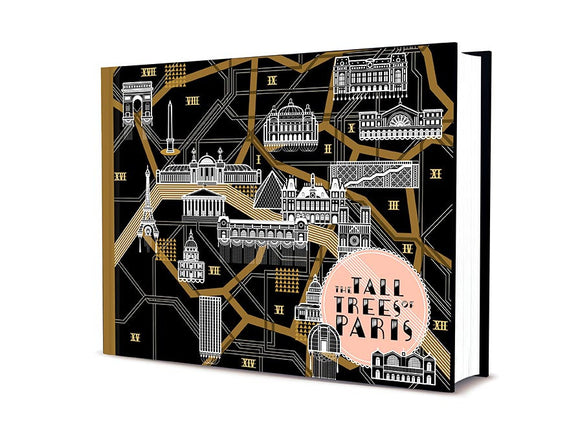 The Tall Trees of Paris by Matt Wagner book cover. Cover art by Koralie.