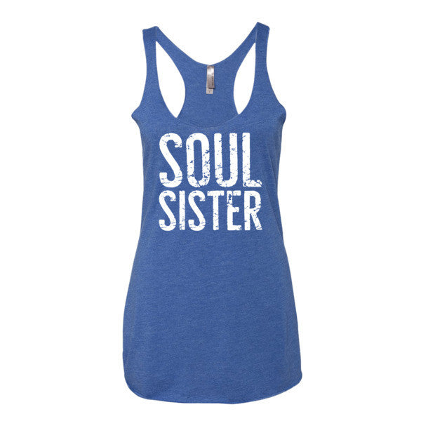 """Soul Sister"" Yoga Tank Top (Multiple Colors Available!)"