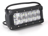 Q Series CREE Dual Row Led Light Bar 7""