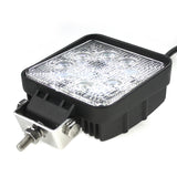 "4"" Square LED Work Light 27w"