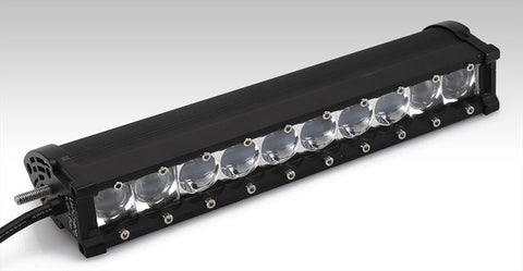 H Series 4D Wide Spot Led Light Bar 11""