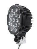 "6.3"" Round W Color ring LED OffRoad  Performance Light"