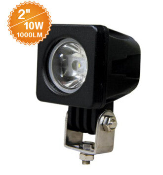 "2"" Square LED Work Light 10w"