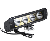 K Series Bevel Single Row Led Light Bar 10""