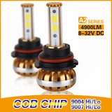 COB A2-Series 9004 DUAL BEAM 30/60w High Power Kit