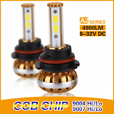 COB A2-Series 9007 DUAL BEAM 30/60w High Power Kit