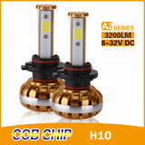 COB A2-Series H10 30w High Power Kit