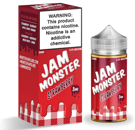 Jam Monster 100ml E Juice