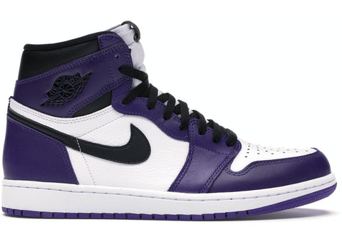 "NIKE AIR JORDAN 1 HIGH ""COURT PURPLE"""