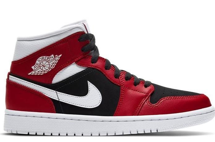 "Nike Air Jordan 1 Mid ""Gym Red"""