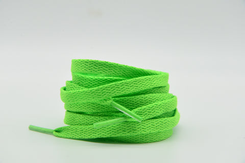 Lime green Laces 120 cm