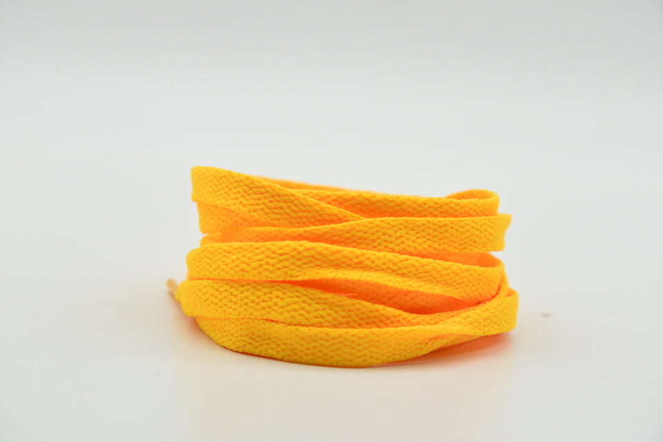 Sunset Yellow Laces 120 cm