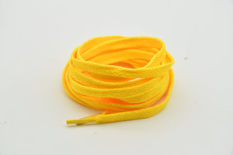 Bright yellow Laces 120 cm