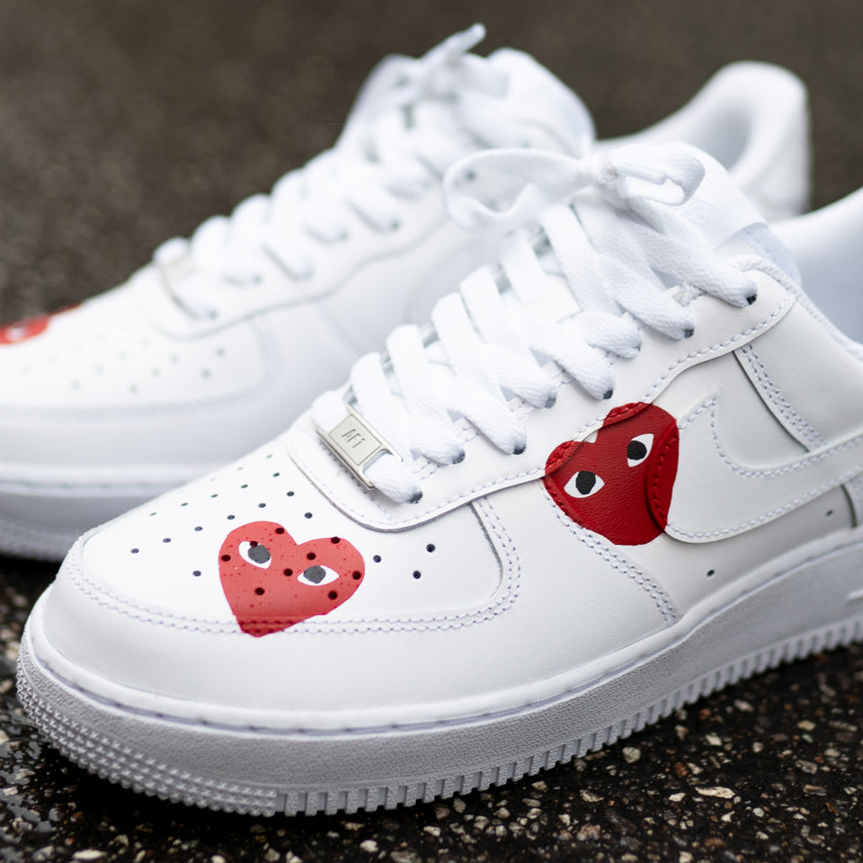 CDG x Nike Air Force 1