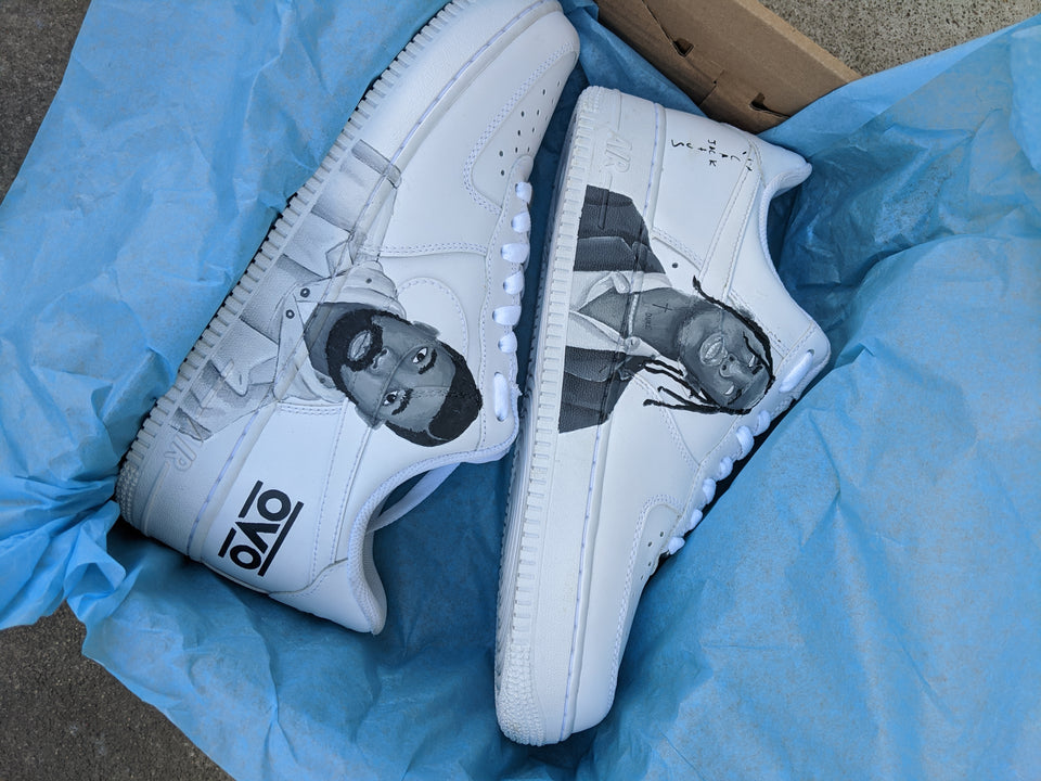 Travis & OVO x Nike Air Force 1