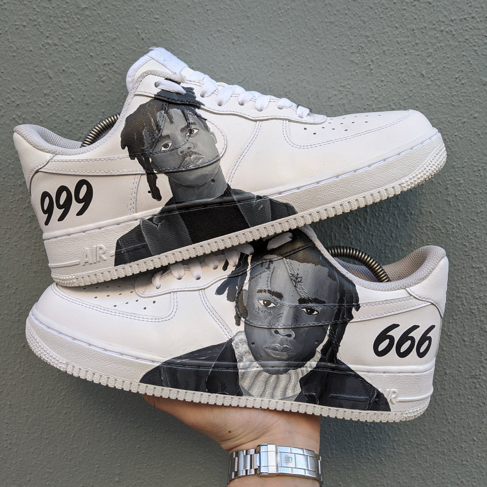 XXXtentacion & Juice wrld x Nike Air Force 1