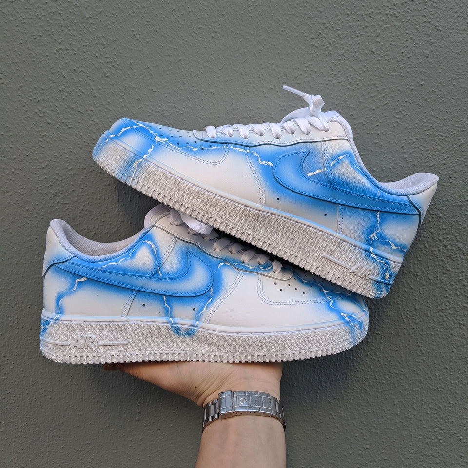 "Lightning ""White"" x Nike Air Force 1"
