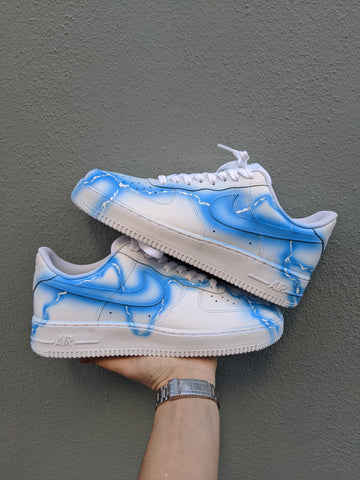 "Lightening Air force 1 ""white"""