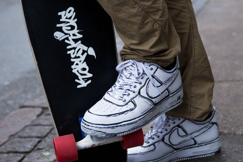 Cartoon Air force 1