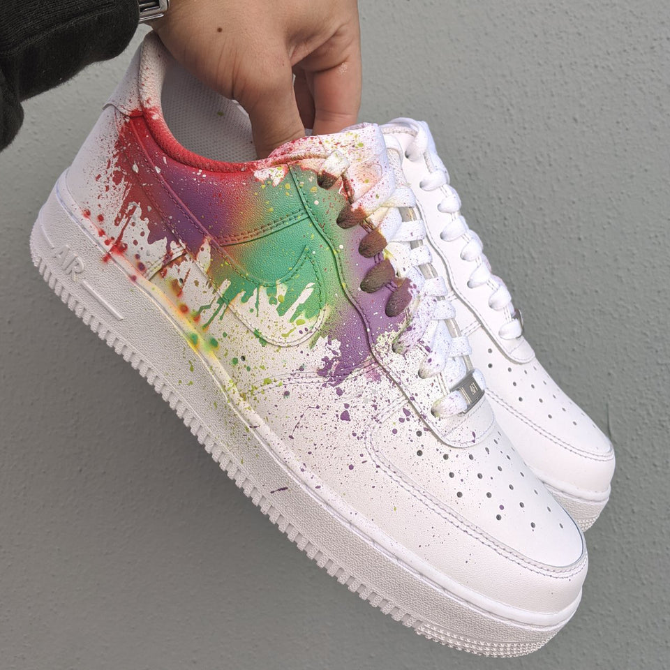 Splatter x Nike Air Force 1