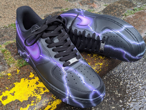 purple Air Force 1 - Lighting