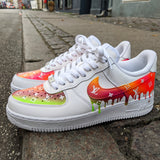 LV Air force 1 Neon drip