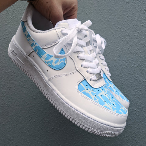 Vintage Dior Air force 1 blue