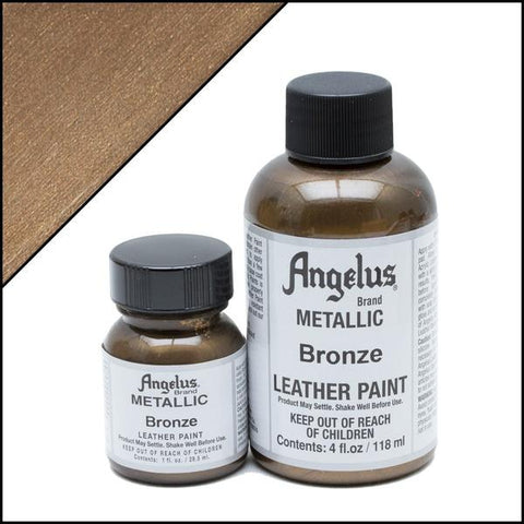 Angelus metallic bronze paint