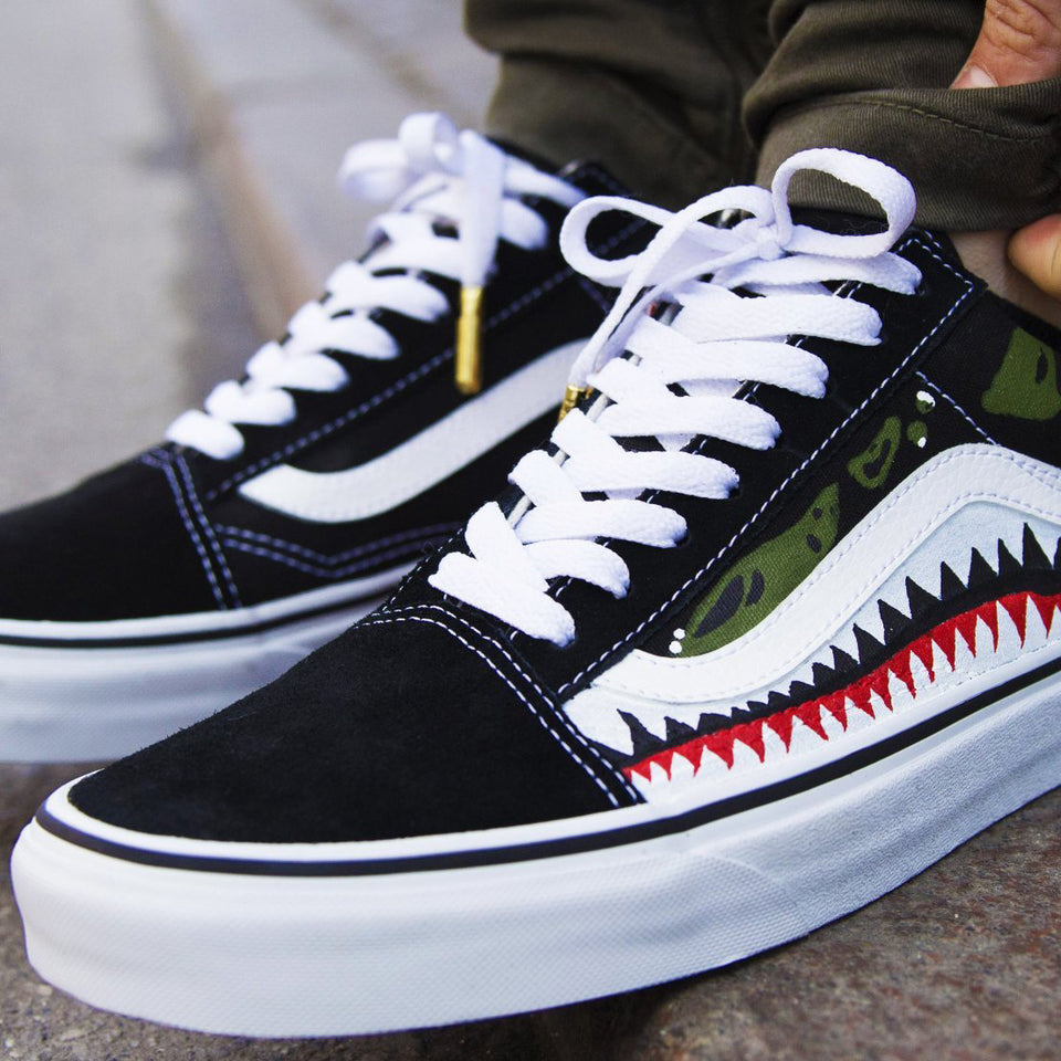 Shark Bite x Vans Old School