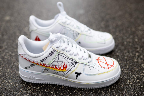 Lil Peep cartoon Air force 1