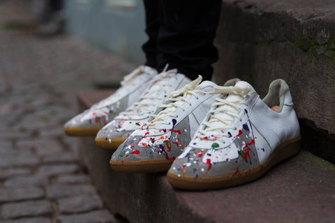 "Splatter sneakers - ""Custom"""